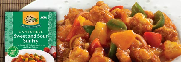 Condimente Chinezesti - CANTONESE SWEET AND SOUR STIR FRY