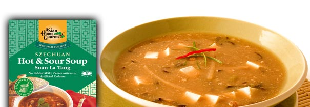 Condimente Chinezesti - SZECHUAN HOT & SOUR SOUP